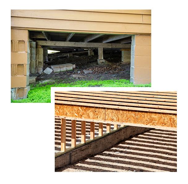 Old, Dilapidated Crawlspace vs. Brand New Crawlspace | Dr. Crawlspace Portland, Oregon