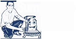 Sump Pump Geeks Logo White